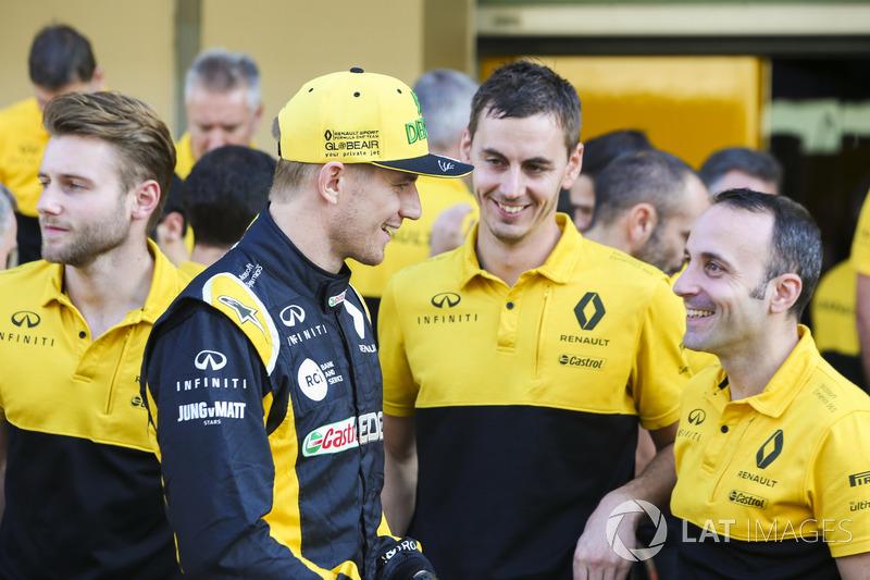 Nico Hulkenberg, Renault Sport F1 Team, Renault Sport F1 Team team
