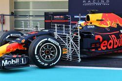 Daniel Ricciardo, Red Bull Racing RB13, sensores aerodinámicos