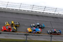 Cody Coughlin, ThorSport Racing Toyota, Grant Enfinger, ThorSport Racing Toyota, Chris Fontaine, Glenden Enterprises Toyota Tundra, Parker Kligerman, Henderson Motorsports Toyota, Ben Rhodes, ThorSport Racing Toyota