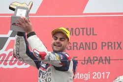 Podium: race winner Romano Fenati, Snipers Team