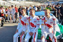 Connor de Phillippi, Christopher Mies, Christopher Haase, Land-Motorsport