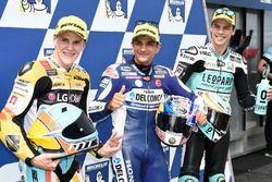 Pole para Jorge Martin, Del Conca Gresini Racing Moto3, segundo, Gabriel Rodrigo, RBA Racing Team, t