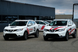 Nissan Qashqai support vehicles