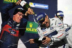 Podium GTE Pro: winner Andy Priaulx Ford Chip Ganassi Racing