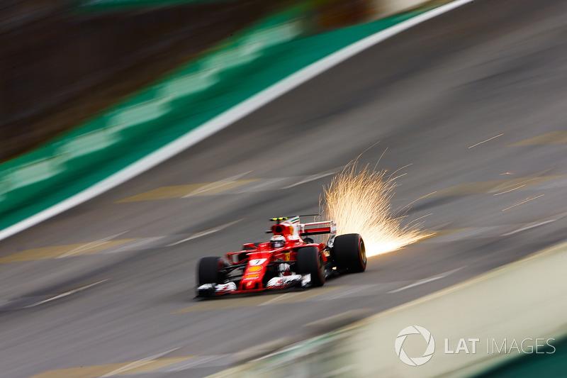 3: Kimi Raikkonen, Ferrari SF70H