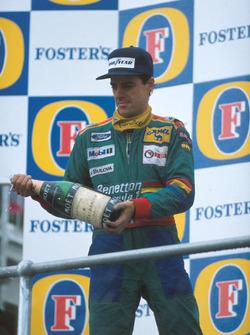 2. Alessandro Nannini, Benetton