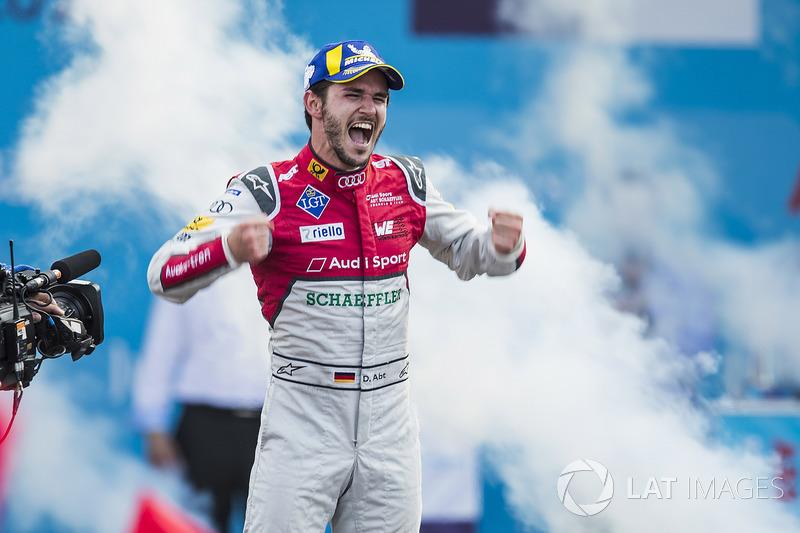Daniel Abt, Audi Sport ABT Schaeffler, celebra