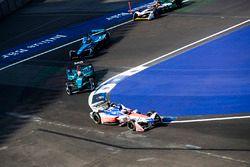 Felix Rosenqvist, Mahindra Racing, Oliver Turvey, NIO Formula E Team, Sébastien Buemi, Renault e.Dam