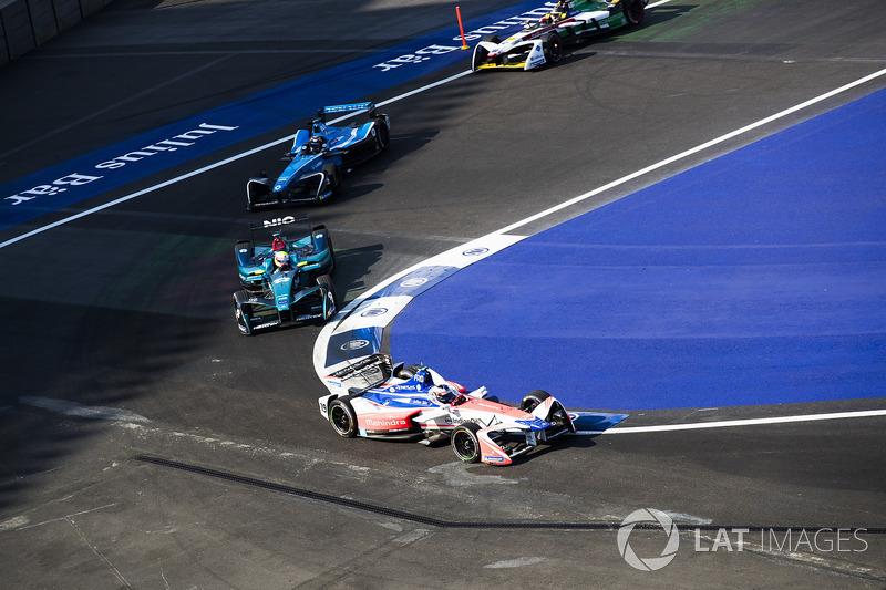 Felix Rosenqvist, Mahindra Racing, Oliver Turvey, NIO Formula E Team, Sébastien Buemi, Renault e.Dams, Daniel Abt, Audi Sport ABT Schaeffler