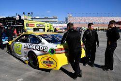 Ryan Blaney, Team Penske, Ford Fusion Menards / Pennzoil