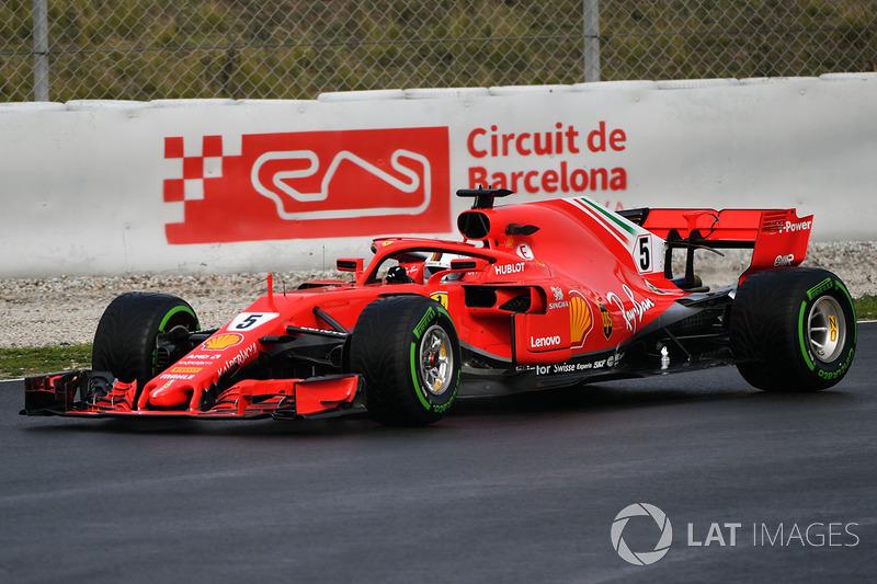 Sebastian Vettel fue el más rápido