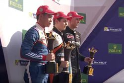 Podium: winner Felipe Drugovich, second place Presley Martono, third place Dylan Young