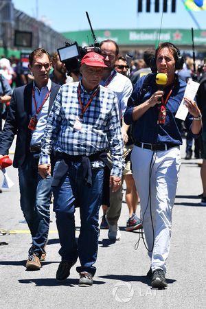 Niki Lauda, Mercedes AMG F1 Non-Executive Chairman