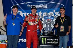 1. Kyle Busch, Joe Gibbs Racing, Toyota Camry Skittles Red White & Blue