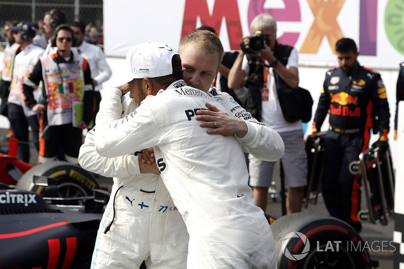 Campeón del Mundo 2017, Lewis Hamilton, Mercedes AMG F1, Valtteri Bottas, Mercedes AMG F1
