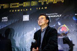 Ivan Yim, managing director Techeetah