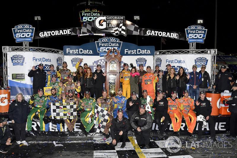Pemenang balapan, Kyle Busch, Joe Gibbs Racing Toyota