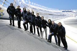 Phil Hanson, Lando Norris, Fernando Alonso, Will Owen, Hugo de Sadeleer, Bruno Senna, Zak Brown, United Autosports