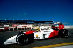 Айртон Сенна, McLaren MP4/6
