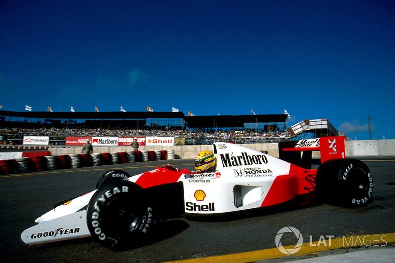 McLaren-Honda MP4/6 : 8 victorias