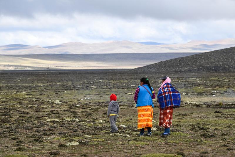 Peruvians during Stage 6