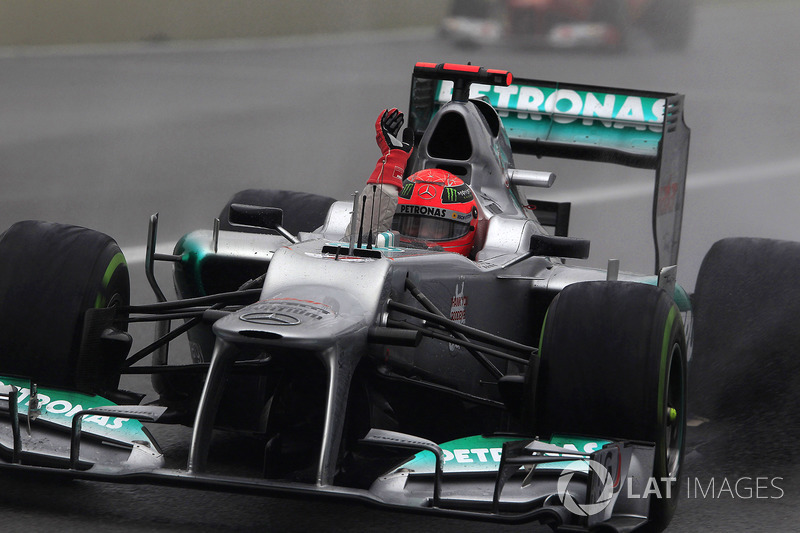 4. Michael Schumacher – 306 arranques