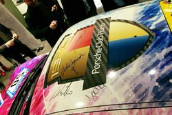 Il tetto della Porsche 911 GT3 Cup del Porsche Club Ticino