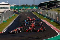 Leonardo Pulcini, Campos Racing, Anthoine Hubert, ART Grand Prix, Callum Ilott, ART Grand Prix