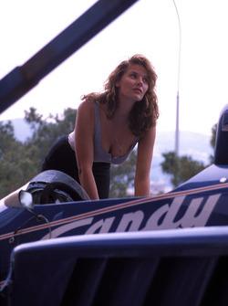 Девушка, Гран При Монако 1985 года