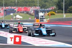 David Beckmann, Jenzer Motorsport leads Niko Kari, MP Motorsport