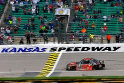 Christopher Bell, Joe Gibbs Racing Toyota takes the checkered flag