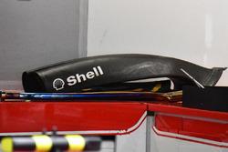 Ferrari SF70H air intake