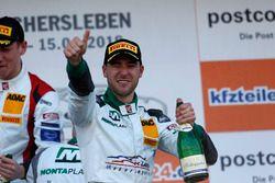 Podium: #28 Montaplast by Land-Motorsport Audi R8 LMS: Kelvin van der Linde