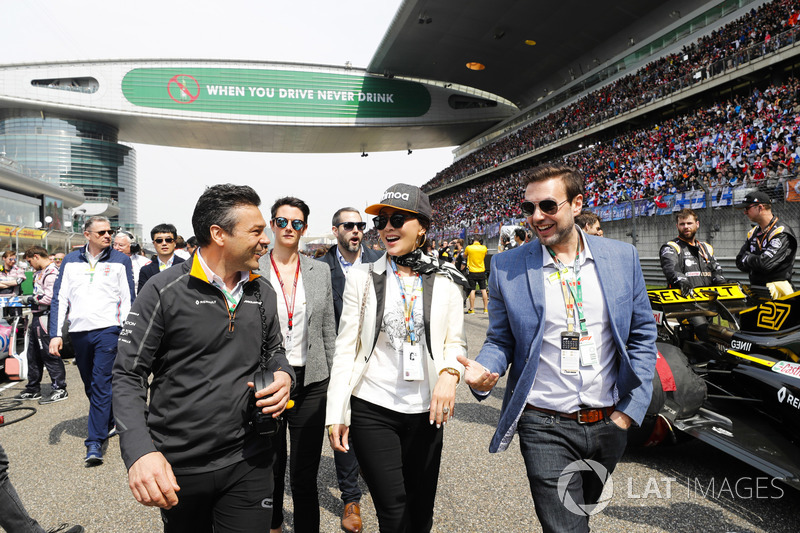 Actress and Singer Carina Lau on the grid