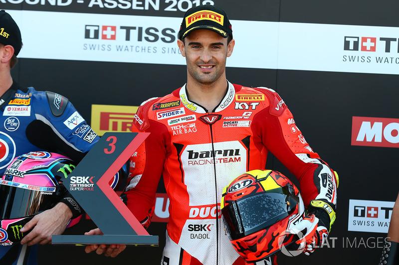 Tercer lugar Xavi Flores, Barni Racing Team
