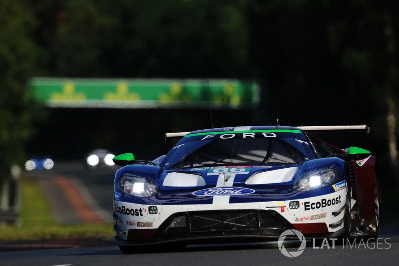 33: #66 Ford Chip Ganassi Racing Ford GT: Stefan Mücke, Olivier Pla, Billy Johnson, 3'49.181