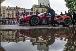 Автомобиль Ferrari 488 GTE Evo (№51) команды AF Corse
