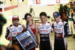 Pole-Position: #8 Toyota Gazoo Racing Toyota TS050: Sébastien Buemi, Kazuki Nakajima, Fernando Alonso