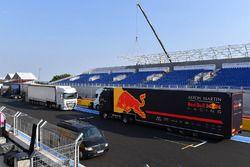 Red Bull Racing truck