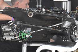 Renault Sport F1 Team R.S. 18 detalle del chasis