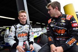 Justin Haley, GMS Racing, Chevrolet Silverado Fraternal Order Of Eagles and Dalton Sargeant, GMS Racing, Chevrolet Silverado Performance Plus Motor Oil