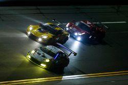 #59 Manthey Racing Porsche 911 GT3 R, GTD: Steve Smith, Harald Proczyk, Sven Muller, Matteo Cairoli, Randy Walls #3 Corvette Racing Chevrolet Corvette C7.R, GTLM: Antonio Garcia, Jan Magnussen, Mike Rockenfeller