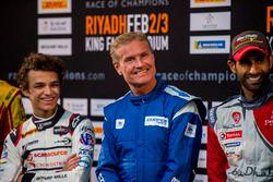Conferencia de prensa: Lando Norris, David Coulthard, y Khaled Al Qassimi,