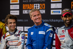 Press Conference: Lando Norris, David Coulthard, and Khaled Al Qassimi,