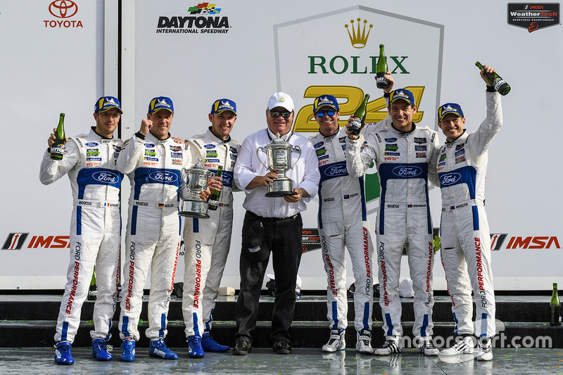 Bourdais, Muller, Hand, Ganassi, Dixon, Westbrook, Briscoe – quite a line-up of talent! Leading a Ford 1-2 in the 2018 Rolex 24 Hours at Daytona was one of Westbrook's special moments, but he feels the near-miss at the same venue a year later should have been the greatest victory in the Ford GT's four-year history.