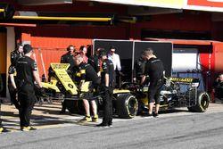 La monoposto di Carlos Sainz Jr., Renault Sport F1 Team R.S. 18