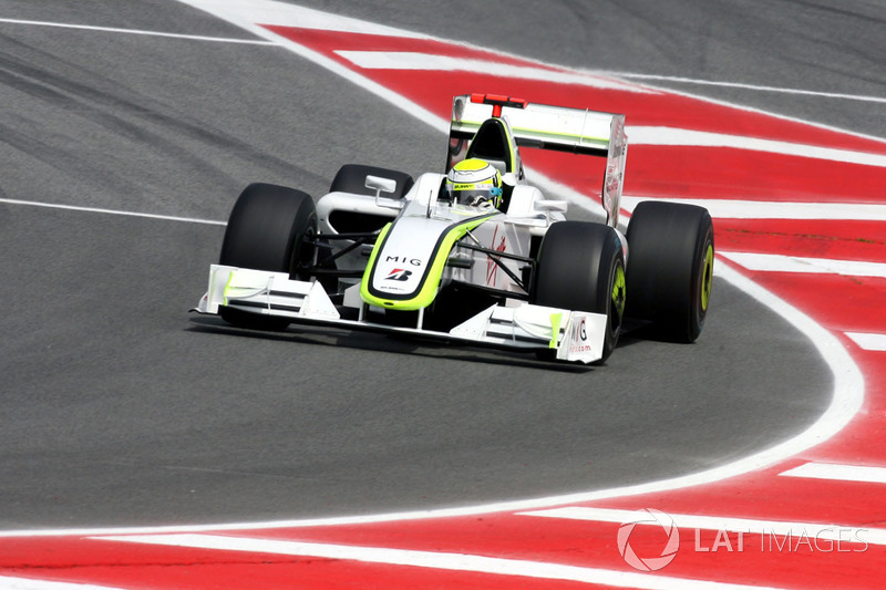 2009: Дженсон Баттон, Brawn-Mercedes BGP 001