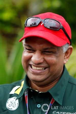 Tony Fernandes, teambaas Caterham F1