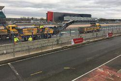 Repavimentado de Silverstone