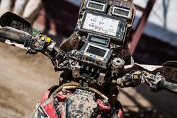 Une moto du Monster Energy Honda Team